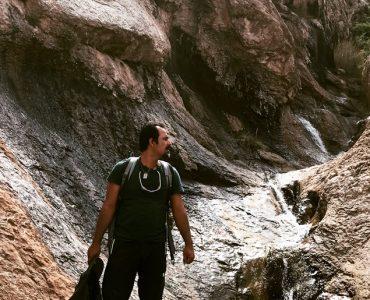 آبراهه خطرناک در کوهنوردی